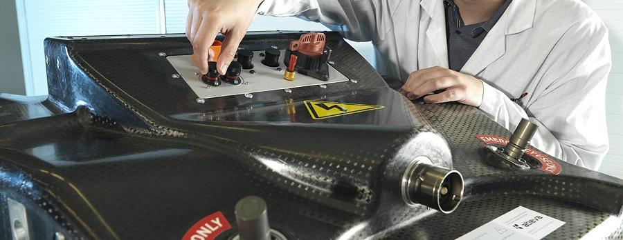 Formula E batteria
