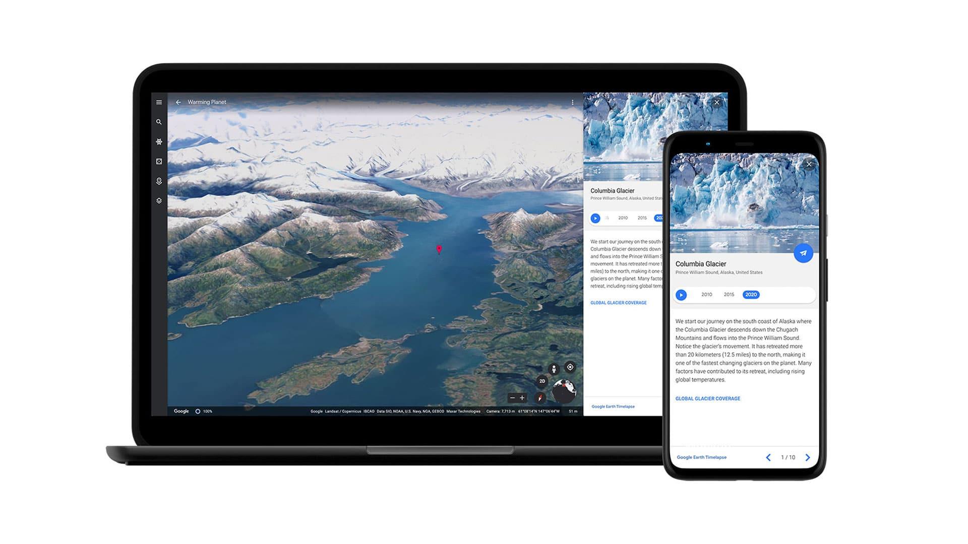 Con Google Earth Timelapse puoi viaggiare nel tempo thumbnail