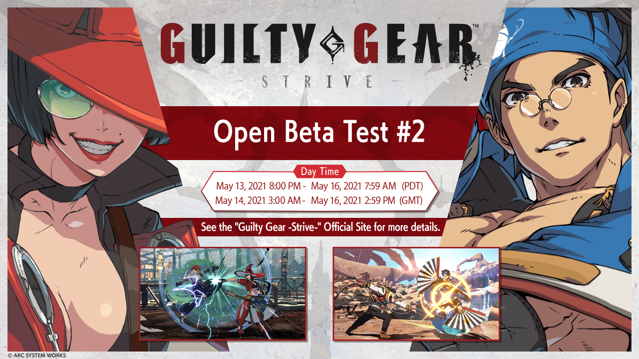 Ecco quando si terrà l'Open Beta Test di Guilty Gear -Strive- thumbnail