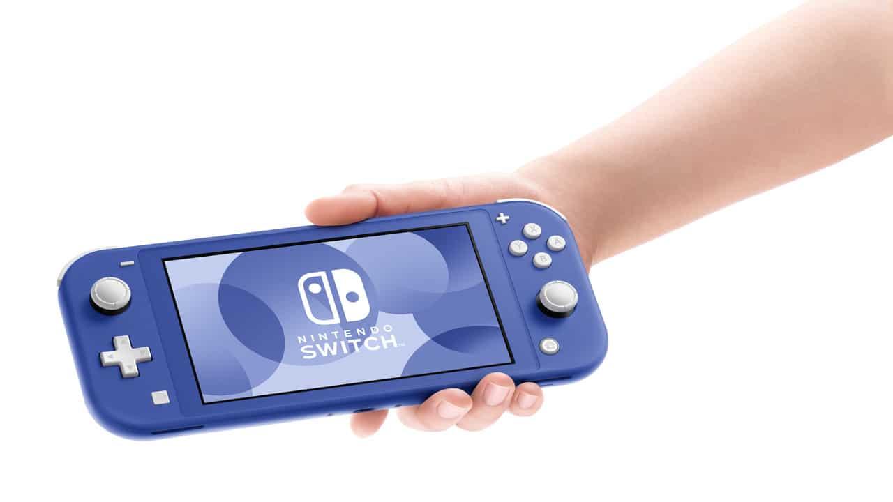 Nintendo Switch Lite si colora di blu. Disponibile la nuova versione. thumbnail
