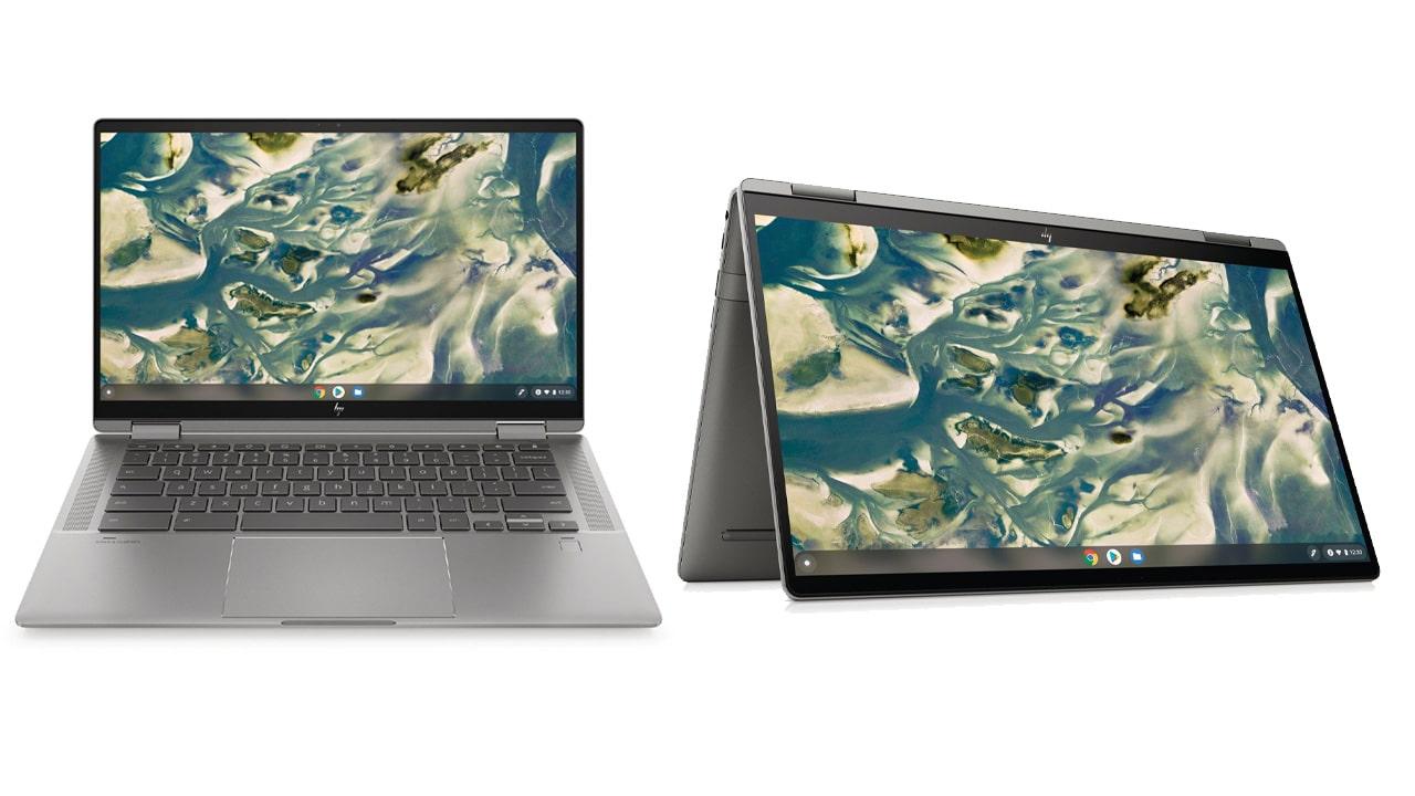 HP presenta il nuovo convertibile Chromebook x360 14c thumbnail