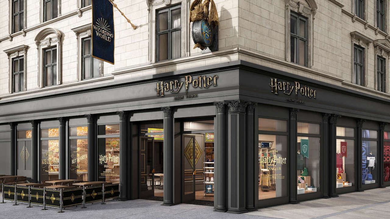 Svelate le primi immagini dell'Harry Potter Store di New York thumbnail