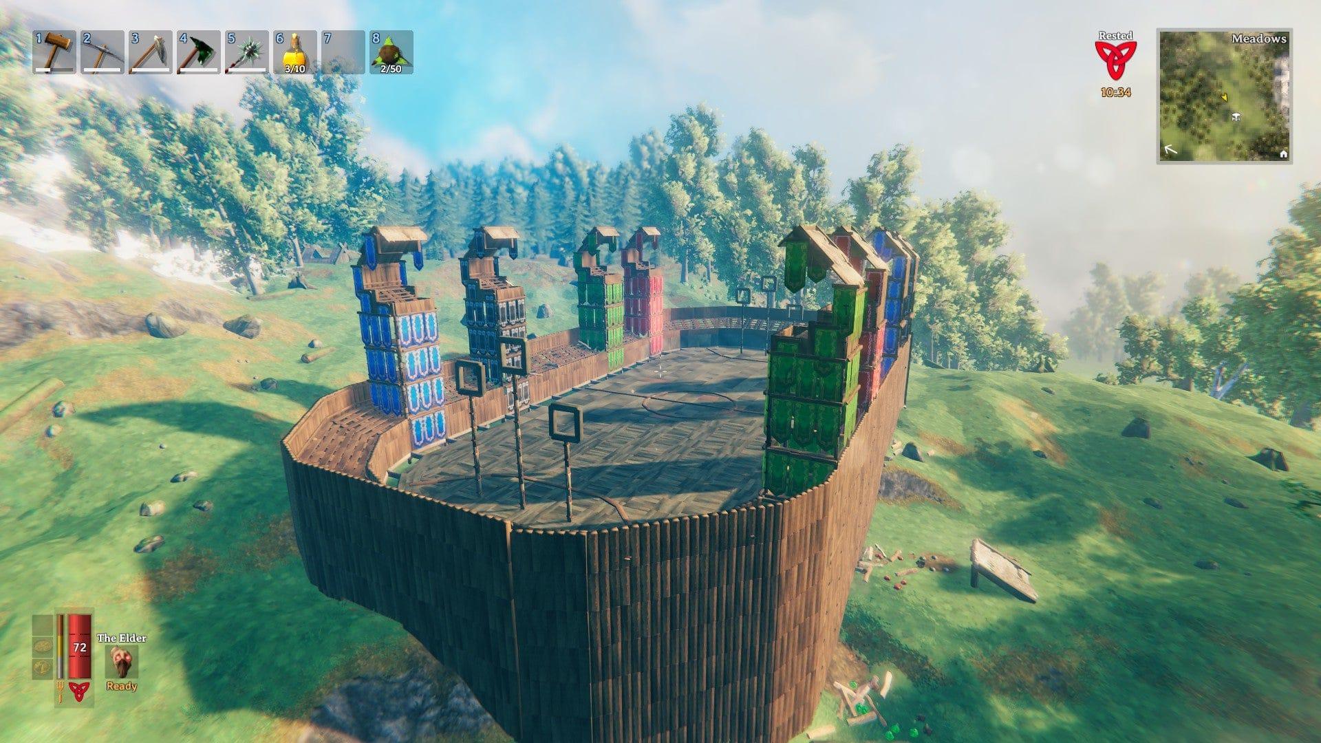 La Hogwarts di Harry Potter ricostruita nel videogioco Valheim thumbnail