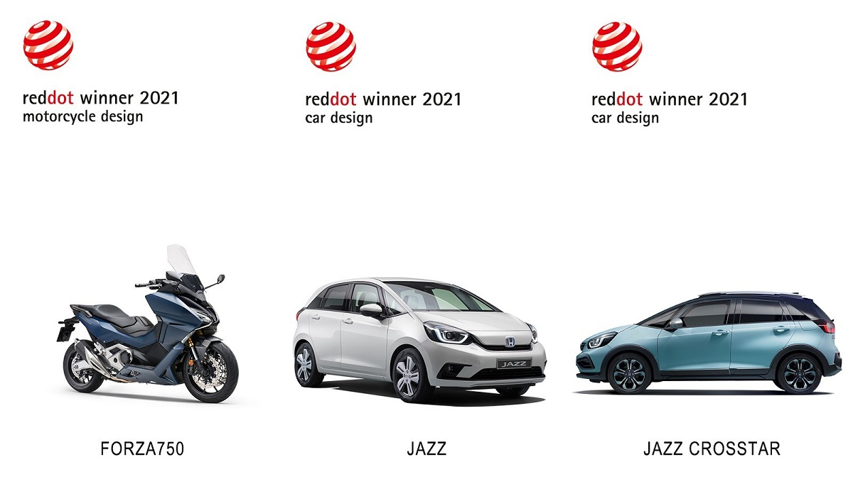Honda conquista i Red Dot Awards con Jazz e Forza 750 thumbnail