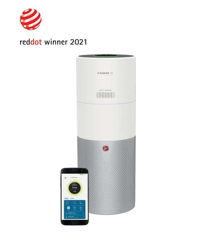 Hoover H-PURIFIER Red dot award 2021