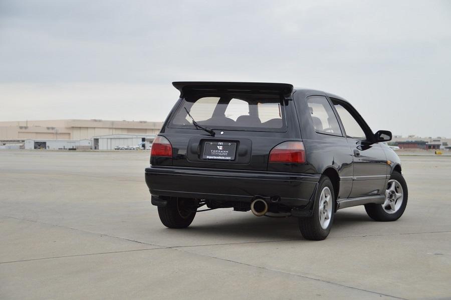Hot Hatch anni '90 Nissan Sunny GTI-R posteriore