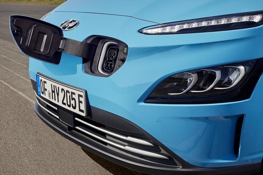 Hyundai Kona 2021 electric ricarica