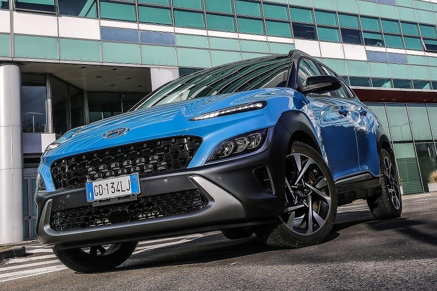 Hyundai Kona 2021 frontale
