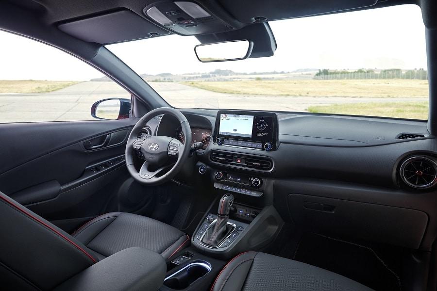 Hyundai Kona 2021 interni N-Line