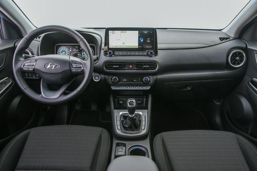 Hyundai Kona 2021 interni