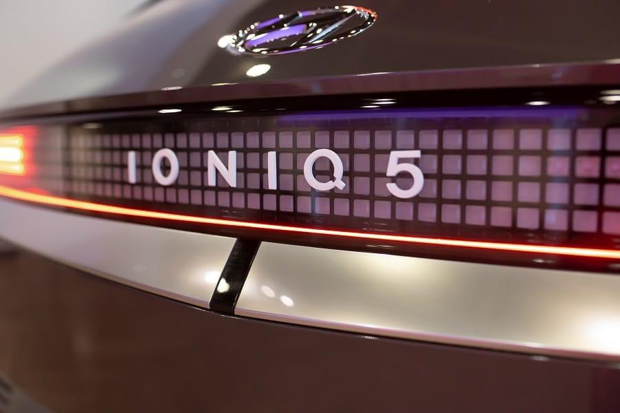 Ioniq 5 2021 dettaglio nome