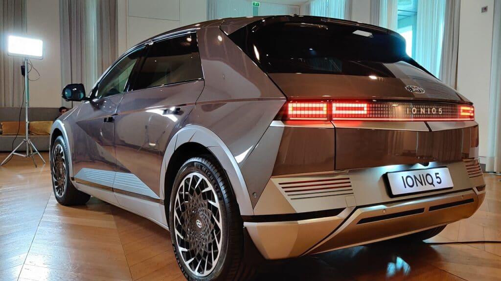 Ioniq 5 2021 posteriore