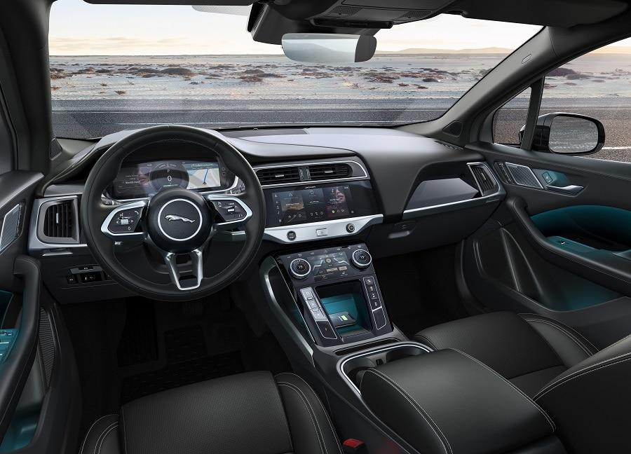 Jaguar I-Pace Black interni
