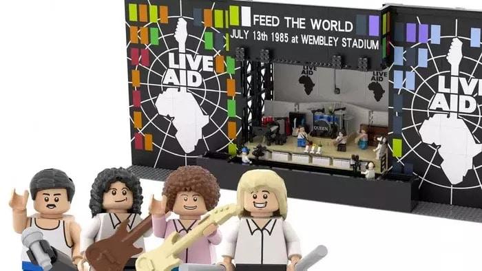 LEGO Queen Live Aid 1985 LEGO IDEAS