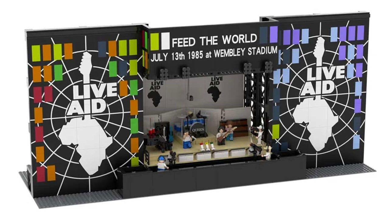 La performance dei Queen al Live Aid diventa un set LEGO thumbnail