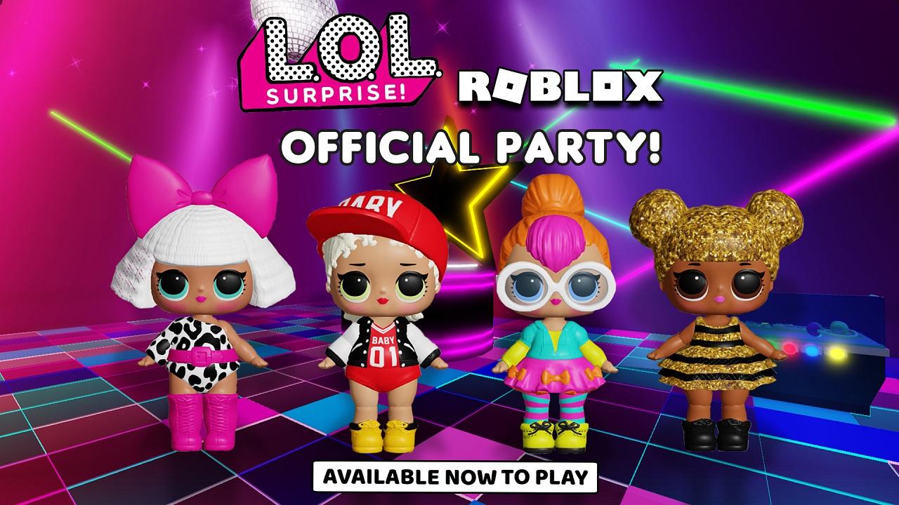 LOL Surprise sbarcano sulla piattaforma Roblox thumbnail