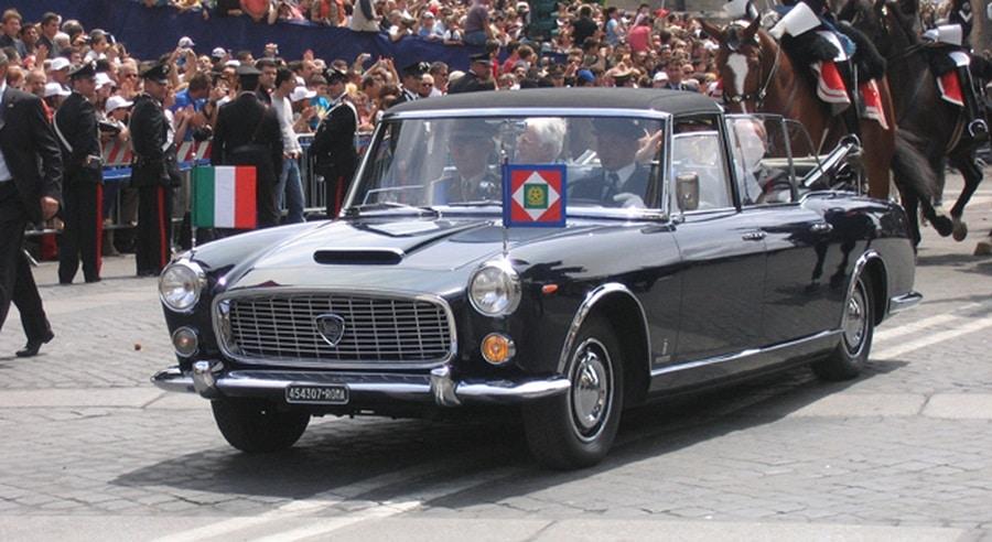 Landaulet Lancia Flaminia Presidenziale