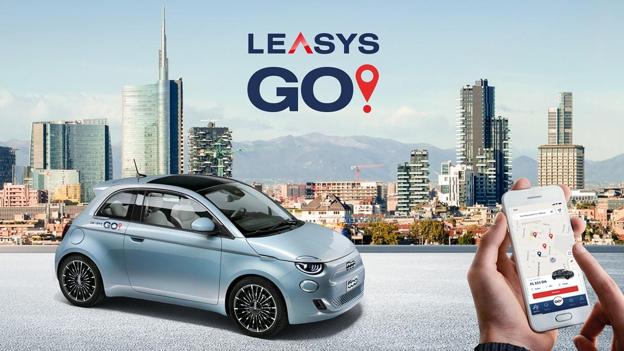 LeasysGo! arriva a Milano: 400 FIAT 500 Elettriche per la città meneghina, con tariffe prepagate o al minuto thumbnail