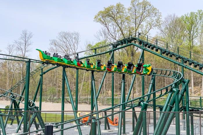 Legoland New York Resort montagne russe