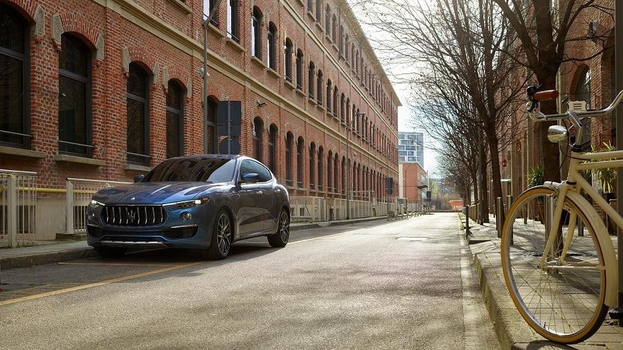Maserati Levante Hybrid frontale