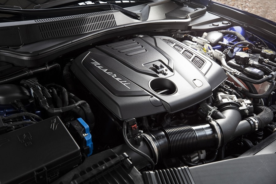 Maserati Hybrid motore