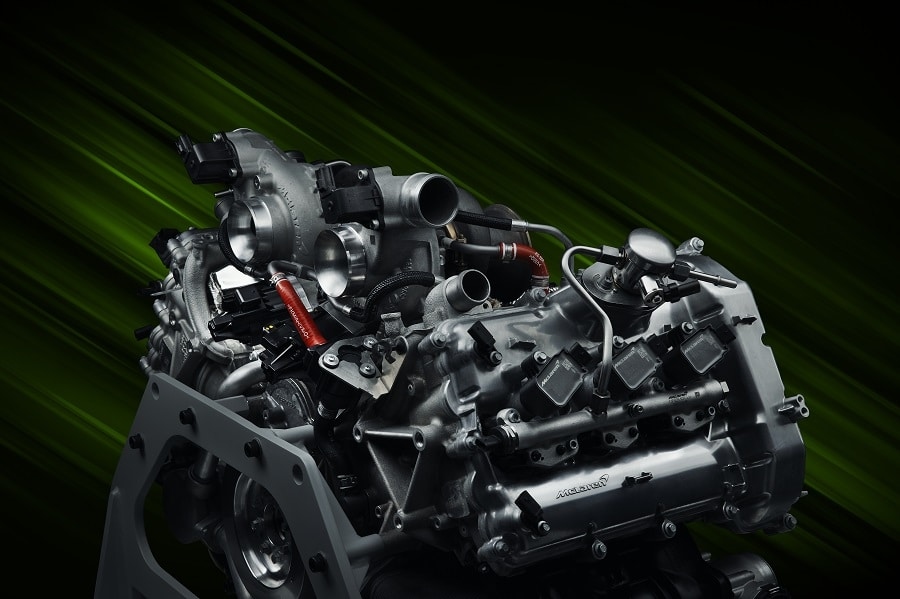 McLaren Artura motore V6
