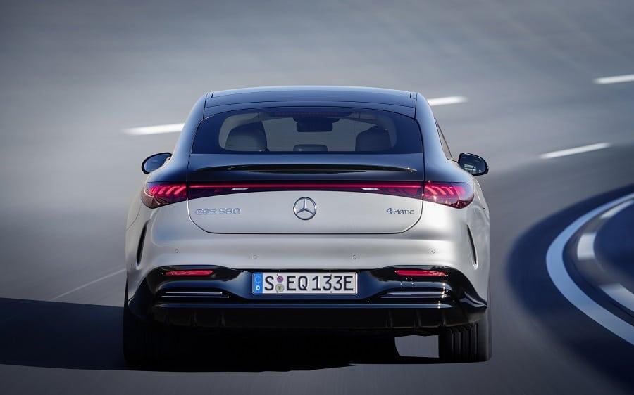 Mercedes EQS 2021 580