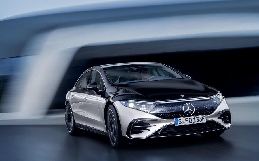 Mercedes-Benz EQS frontale