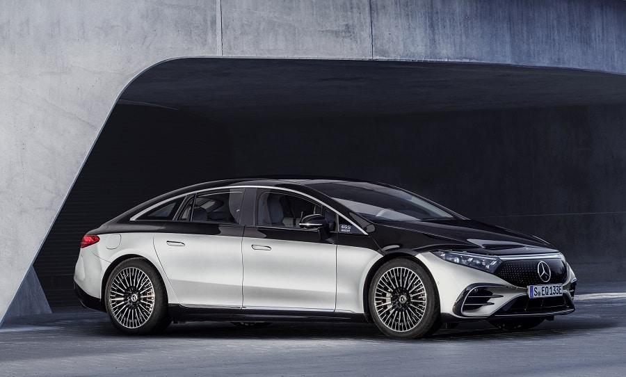 Mercedes EQS 2021 laterale