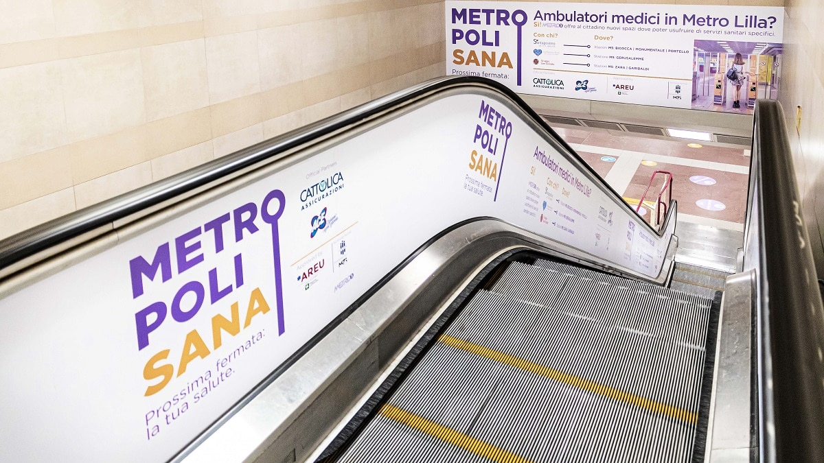 Metropolisana: la salute protagonista nella metro di Milano thumbnail