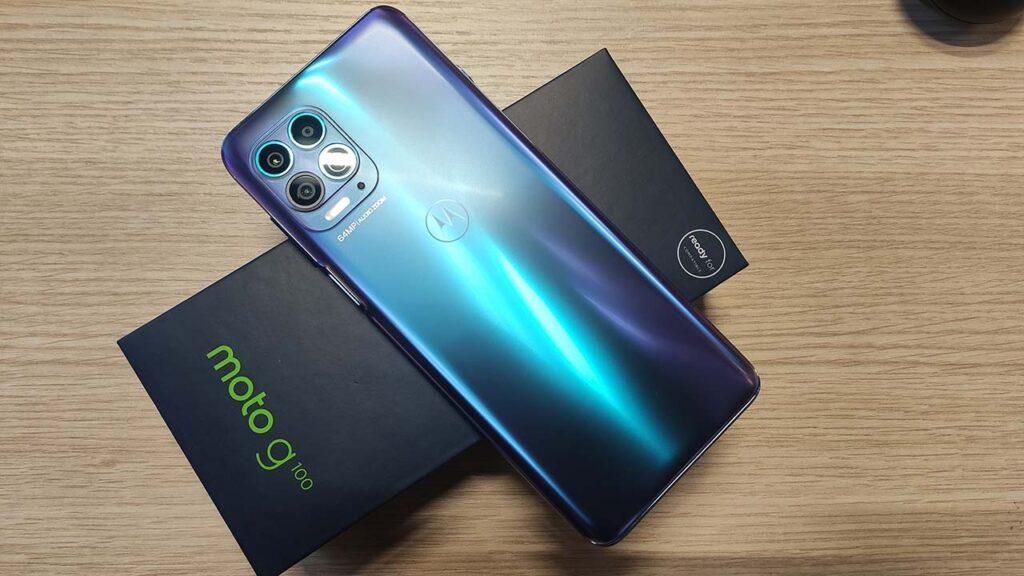 Motorola Moto g100 recensione