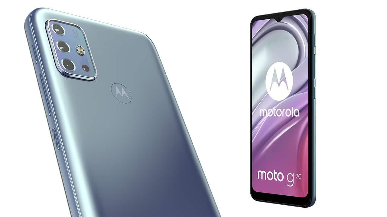 Moto G20, il nuovo smartphone entry level di Motorola thumbnail