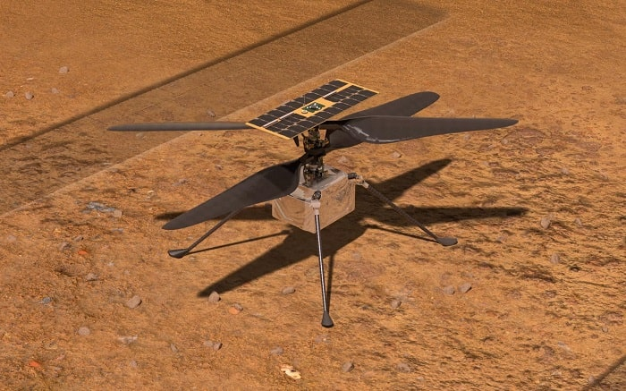 NASA-Ingenuity-elicottero volo su marte