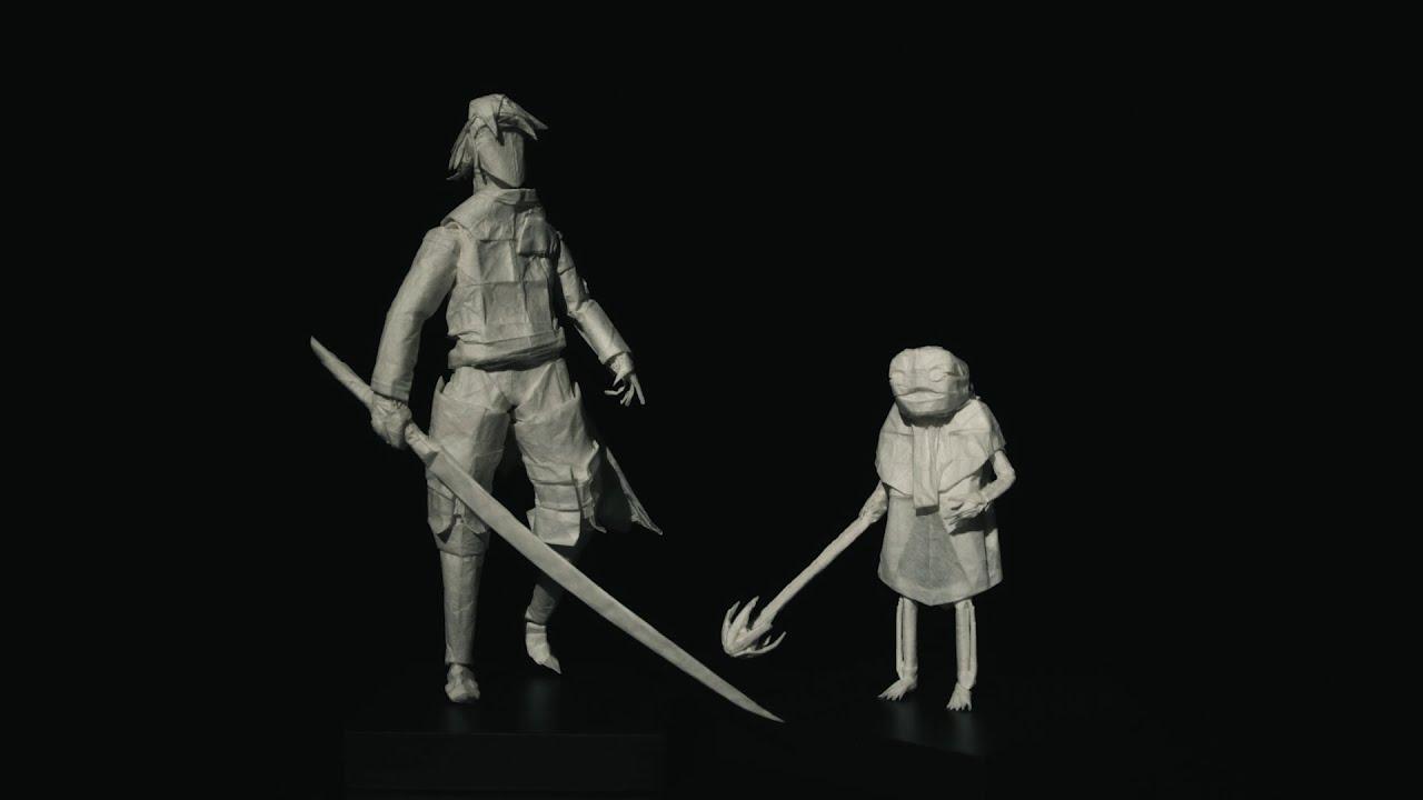 Emil e il protagonista di NieR Replicant prendono vita grazie ad un'artista degli origami thumbnail