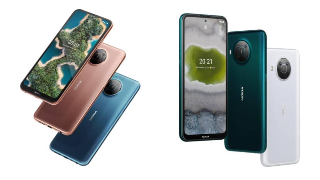 Nokia X20 e Nokia X10 - nuovi smartphone specifiche e prezzi