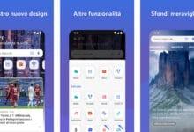 OneDrive e Bing per android - aggiornamento grafica