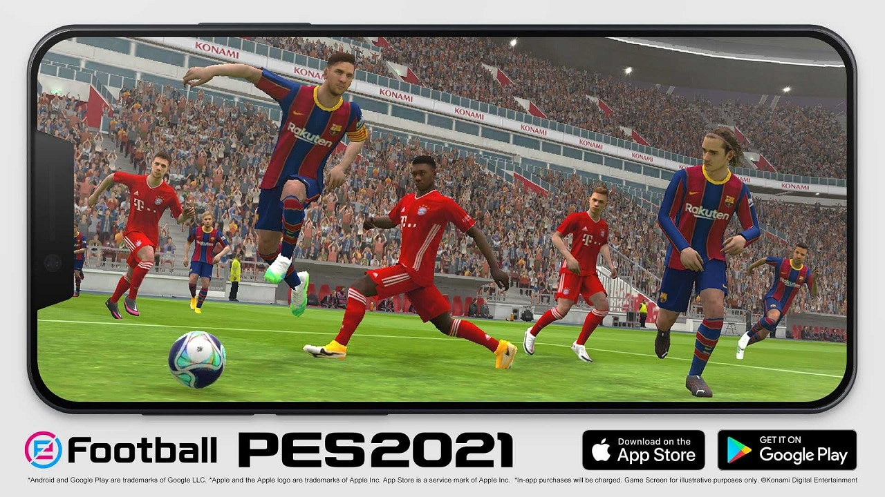 eFootball PES 2021 Mobile supera i 400 milioni di download thumbnail
