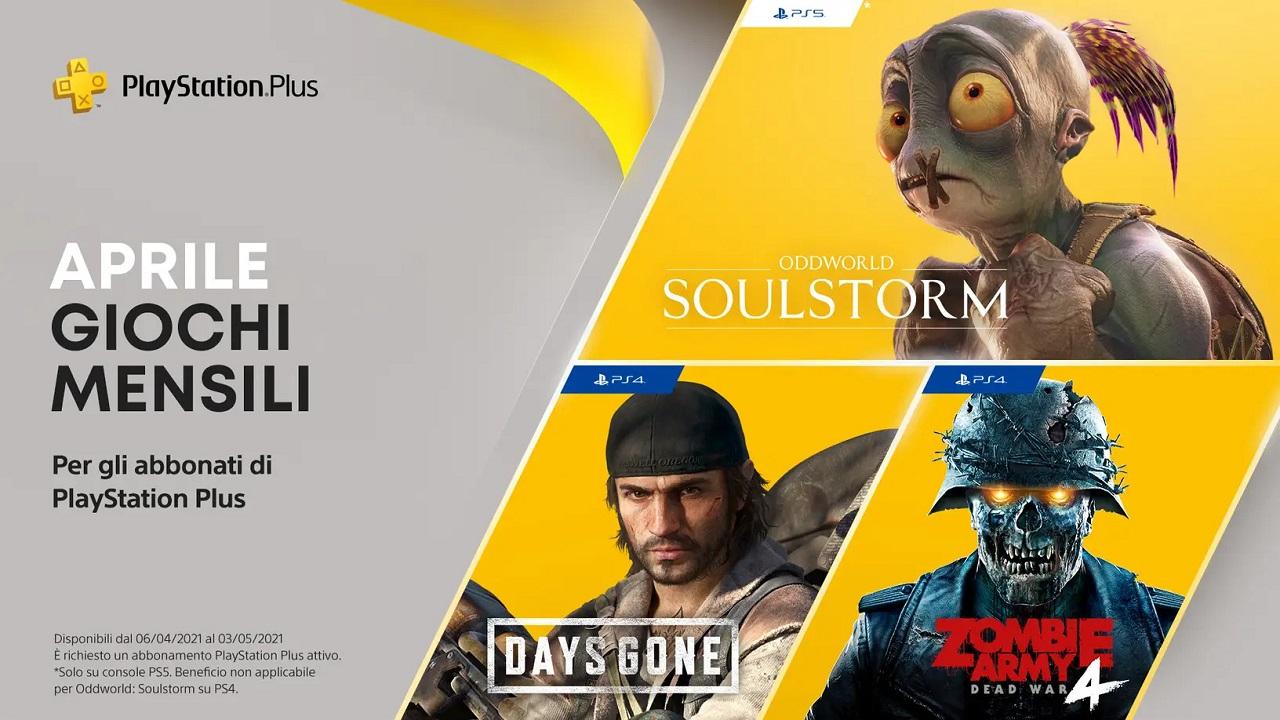 Svelati i giochi gratis disponibili nel PlayStation Plus di aprile 2021 thumbnail