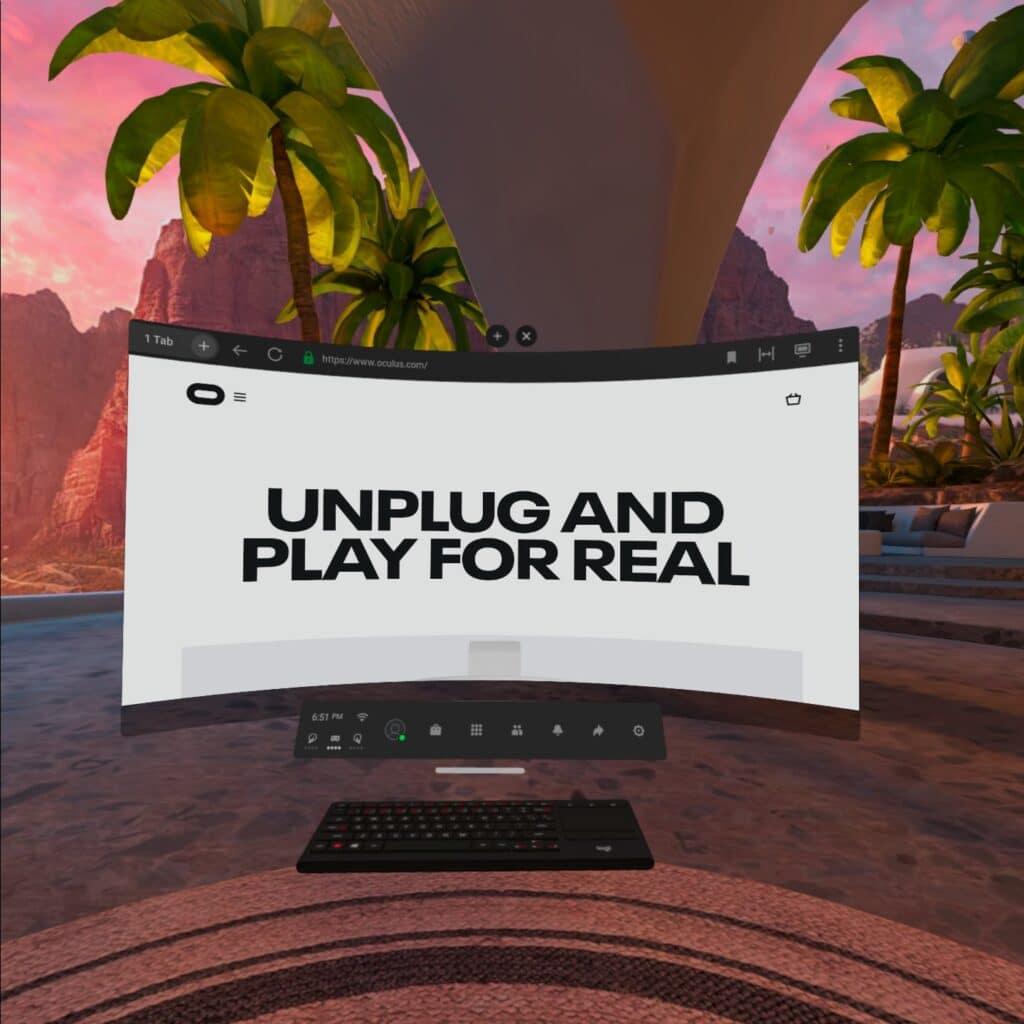 Oculus Quest 2 aggiornamento