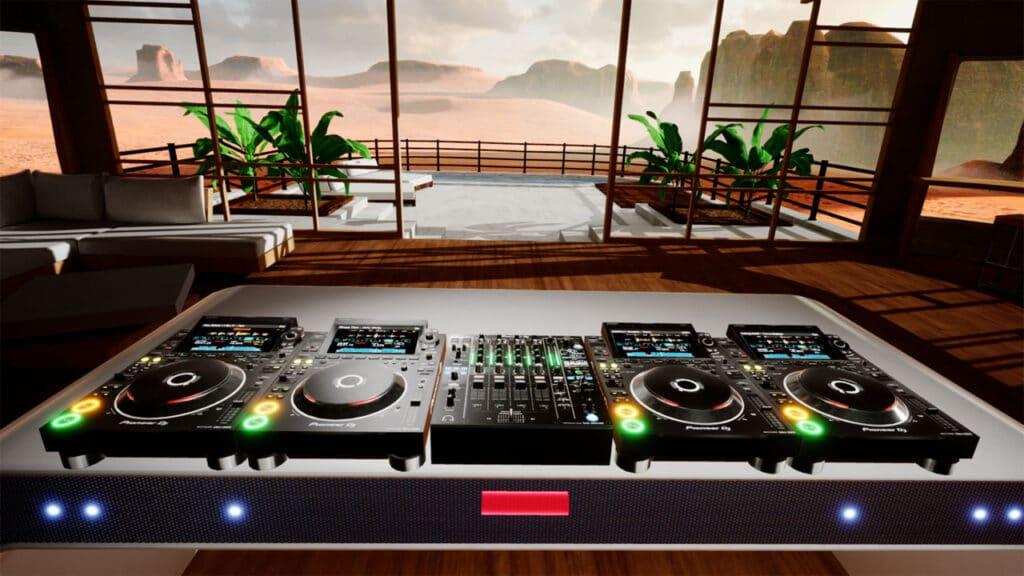 Pioneer DJ realtà virtuale