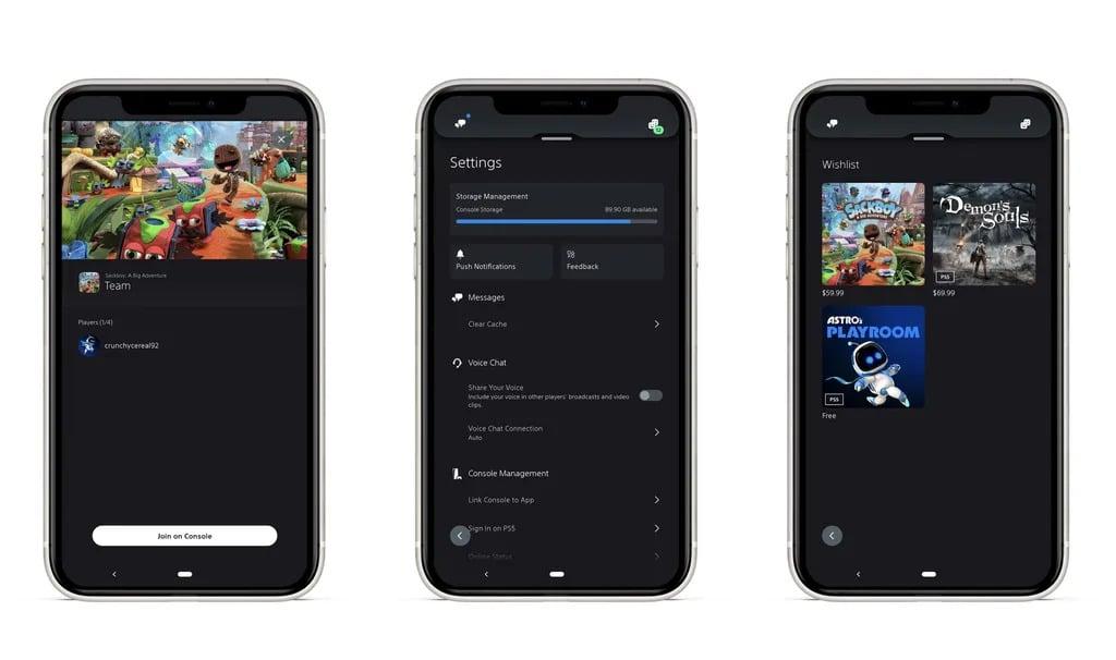 PlayStation App aggiornamento
