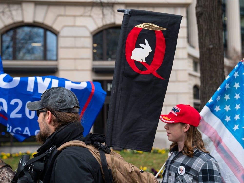 QAnon, movimento Q America