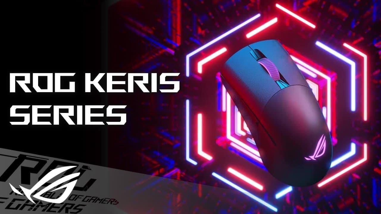 Annunciato ROG Keris, il nuovo mouse ultraleggero di ASUS thumbnail