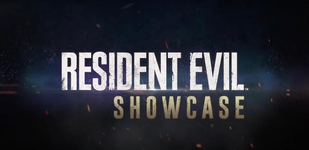 Resident Evil Village Showcase scritta