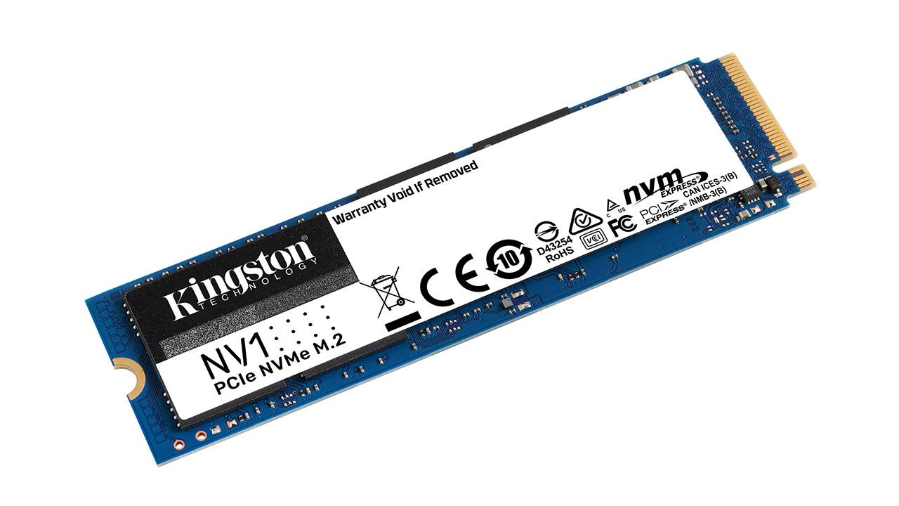 Kingston Digital presenta il drive a stato solido PCIe NVMe NV1 thumbnail