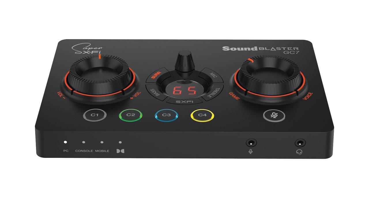 Sound Blaster GC7, il primo DAC da gaming, è in arrivo thumbnail