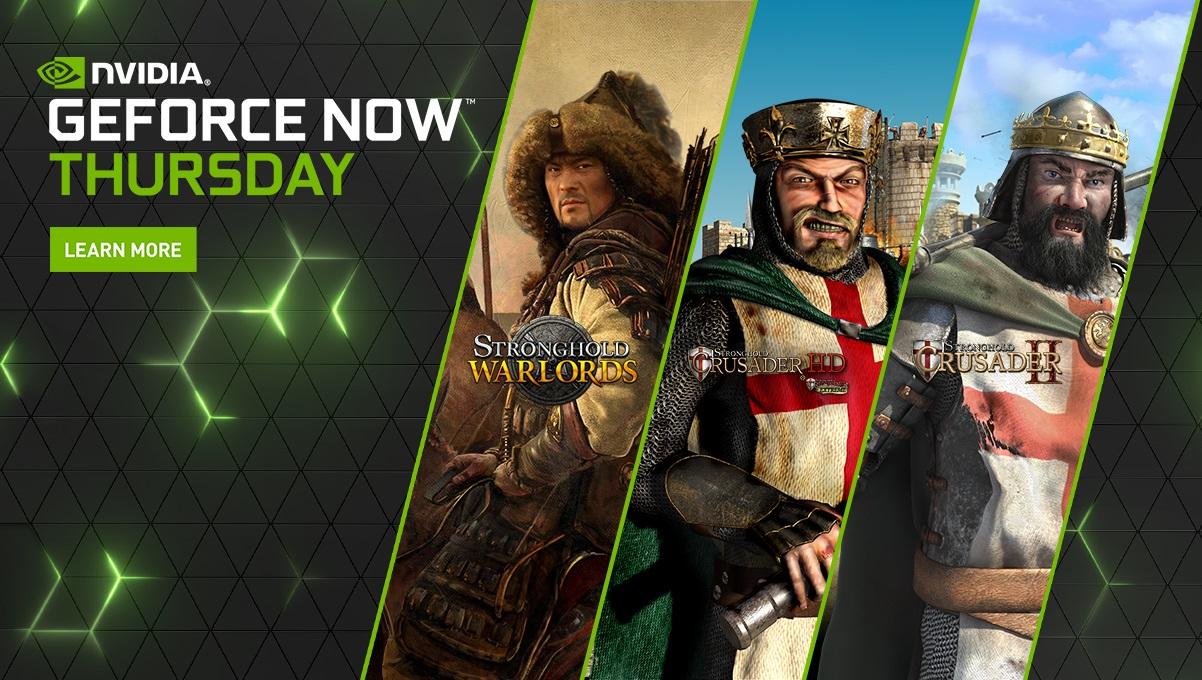 La serie Stronghold è tra le novità della settimana di GeForce NOW thumbnail