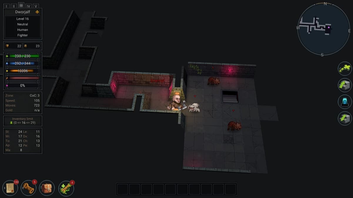 Ultimate ADOM: Caverns of Chaos si aggiorna con tante novità thumbnail