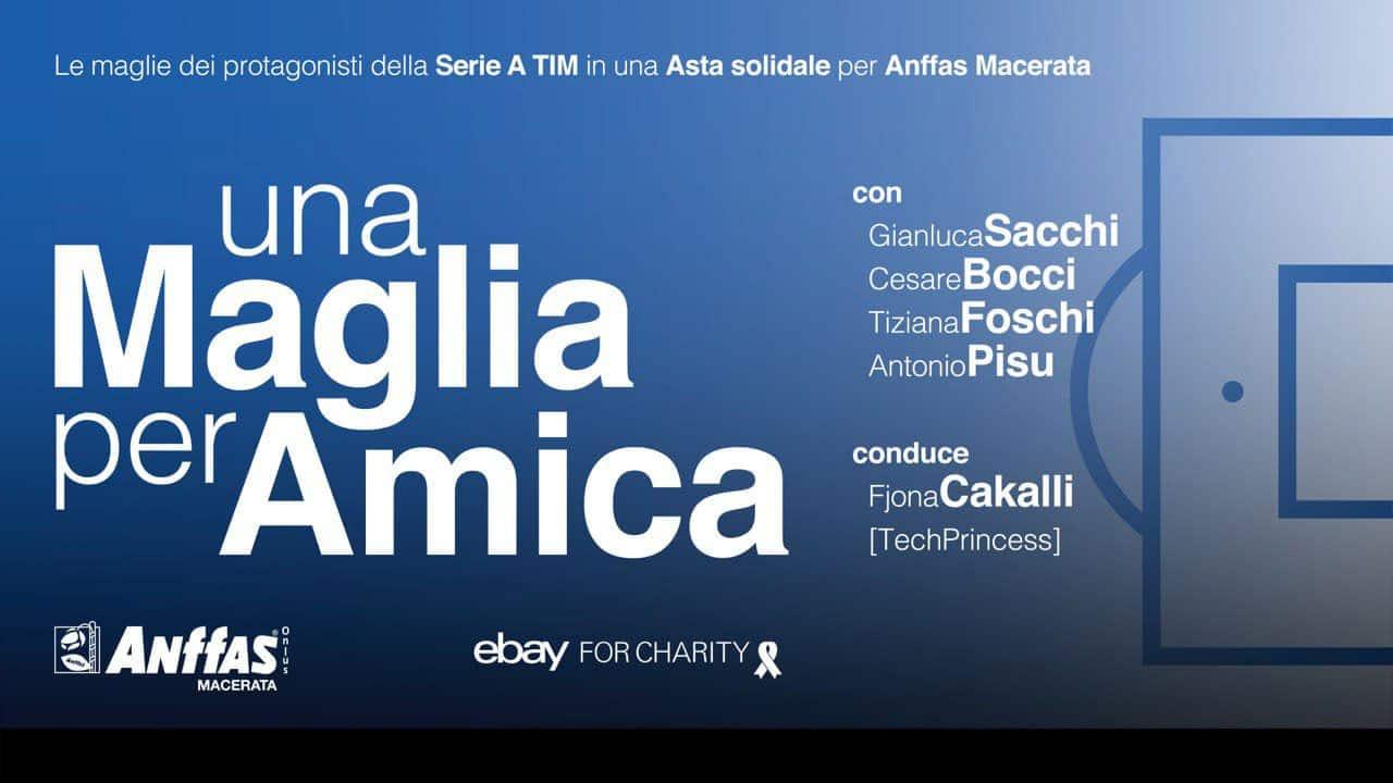 Una Maglia per Amica, l'asta di beneficenza con in palio le maglie ufficiali dei campioni della Serie A TIM thumbnail