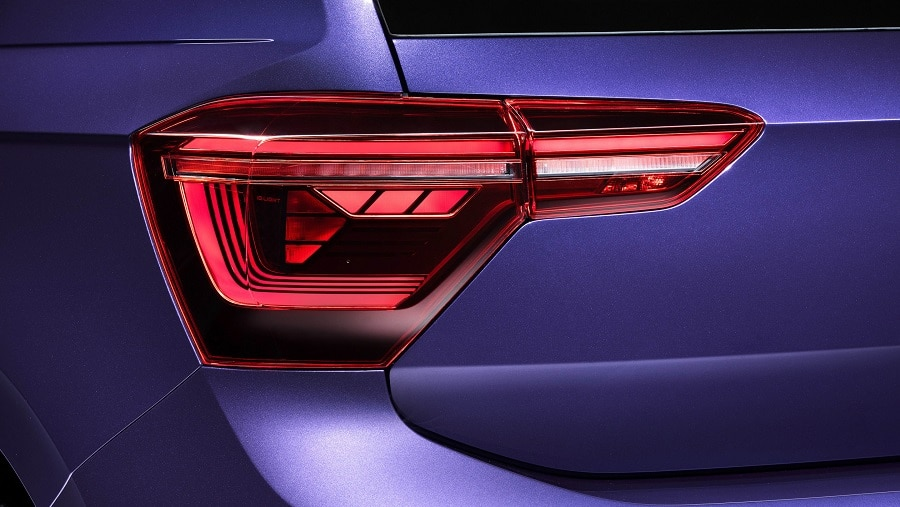 Volkswagen Polo 2021 fari posteriori